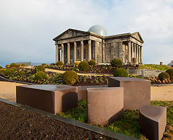 Edinburgh, Scotland, UK. 21 November, 2018. The historic City Observatory on Calton Hill will reopen as The Collective, an arts organisation and will feature the restored City Observatory, City Dome, and a purpose-built exhibition space as well as The Lookout , a new restaurant run by The Gardener's Cottage owners. It opens to the public on 24 November, 2018.