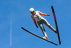 Nika Križnar (SLO) during Ski jumping Summer cup - 45. Revija skokov Mostec on June 4, 2016 in Mostec hill, Ljubljana, Slovenia.Photo by Vid Ponikvar / Sportida