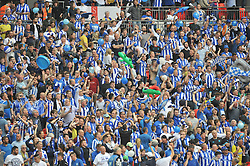 SHEFFIELD WEDNESDAY FANS,  Sky Bet Championship Play-Off Final, Wembley Stadium Saturday  28th May 2016.Photo:Mike Capps