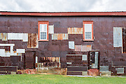 Red Barn Side Wall | Also a frame photographer William Christenberry revisited over the years.