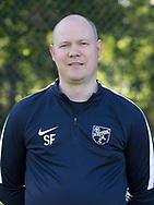 FODBOLD: Søren Feddersen (Assistenttræner, Herresenior) ved Ølstykke FC's officielle fotosession den 10. august 2017 på Ølstykke Stadion. Foto: Claus Birch