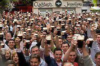 Celebrating Arthur Guinness Day on the Streets of Galway on the 24 September 2009 at 17.59 . Photo:Andrew Downes