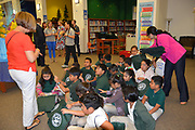 Books Between Kids gave away six books to every student at Piney Point ES to build their home libraries and get them reading over the summer break.
