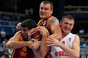 DESCRIZIONE : Vilnius Lithuania Lituania Eurobasket Men 2011 Second Round Russia Macedonia Russia FYR of Macedonia<br /> GIOCATORE : Vitaliy Fridzom Vojdan Stojanovski Gjorgij Chekovski<br /> CATEGORIA : Difesa ritratto<br /> SQUADRA : Macedonia FYR of Macedonia<br /> EVENTO : Eurobasket Men 2011<br /> GARA : Russia Macedonia Russia FYR of Macedonia<br /> DATA : 12/09/2011<br /> SPORT : Pallacanestro <br /> AUTORE : Agenzia Ciamillo-Castoria/M.Metlas<br /> Galleria : Eurobasket Men 2011<br /> Fotonotizia : Vilnius Lithuania Lituania Eurobasket Men 2011 Second Round Russia Macedonia Russia FYR of Macedonia<br /> Predefinita :