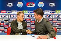 ALKMAAR - 30-01-2017, Johas Svensson, contract , AFAS Stadion, Max Huiberts