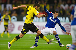 26.11.2011, Signal Iduna Park, Dortmund, GER, 1. FBL, Borussia Dortmund vs FC Schalke 04, im Bild Zweikampf Sebastian Kehl (#5 Dortmund) - Jermaine Jones (#13 Schalke) // during Borussia Dortmund vs. FC Schalke 04 at Signal Iduna Park, Dortmund, GER, 2011-11-26. EXPA Pictures © 2011, PhotoCredit: EXPA/ nph/ Kurth..***** ATTENTION - OUT OF GER, CRO *****