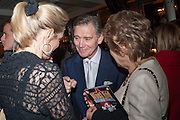 ELIZABETH MAJOR; ANTHONY ANDREWS; DAME NORMA MAJOR; , The press night performance of the Menier Chocolate Factory's 'Merrily We Roll Along', following its transfer to the Harold Pinter Theatre, After-show party at Grace Restaurant, Gt. Windmill St. London. 1 May 2013.
