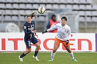 Laure Boulleau / Valerie Gauvin  - 20.12.2014 - PSG / Montpellier - 14eme journee de D1<br /> Photo : Andre Ferreira / Icon Sport