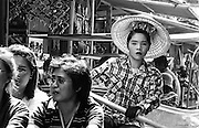 Damnoen Saduak Floating Market - Bangkok, Thailand.