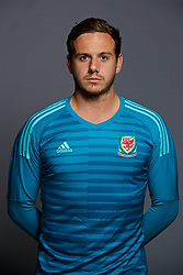 CARDIFF, WALES - Tuesday, September 4, 2018: Wales' Goalkeeper Daniel Ward. (Pic by David Rawcliffe/Propaganda)