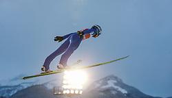 27.12.2014, Schattenbergschanze, Oberstdorf, GER, FIS Ski Sprung Weltcup, 63. Vierschanzentournee, Training, im Bild Michael Hayboeck (AUT) // Michael Hayboeck of Austria// during practice Jump of 63 rd Four Hills Tournament of FIS Ski Jumping World Cup at the Schattenbergschanze, Oberstdorf, Germany on 2014/12/27. EXPA Pictures © 2014, PhotoCredit: EXPA/ Peter Rinderer