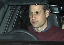 © Licensed to London News Pictures. 14/01/2020. London, UK. PRINCE WILLIAM, DUKE OF CAMBRIDGE is seen leaving Kensington Palace in London. Yesterday Queen Elizabeth II held a summit meeting with senior members of the Royal family at Sandringham, following a recent announcement that Prince Harry and Megan, The Duke and Duchess of Sussex, will be stepping back from official Royal duty and spending more time abroad. Photo credit: Ben Cawthra/LNP