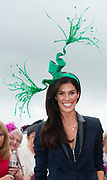 Repro Free. Glenda Gilson at the g Hotel Best Dressed competitions at the Galway Races. Photo: Andrew Downes, xposure