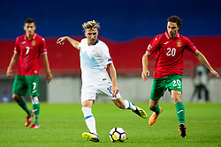 Kevin Kampl of Slovenia during football match between National teams of Slovenia and Bulgaria in Group stage of UEFA Nationals League, on September 6, 2018 in SRC Stozice, Ljubljana, Slovenia. Photo by Urban Urbanc / Sportida