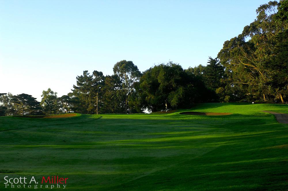 Oct. 7, 2006; San Francisco, Cailf., USA: No. 12 on the Presidio Golf Course in San Francisco, Calif. ..©2006 Scott A. Miller