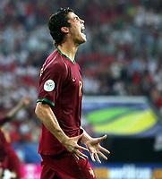 Jubel Cristiano Ronaldo Portugal - versenkt den entscheidenden Elfmeter<br /> Fussball WM 2006 Viertelfinale England - Portugal 1:3 i.E.<br /> <br />  Norway only