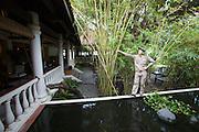 Evason Ana Mandara & Six Senses Spa ? Nha Trang. Fish pond at the lobby.
