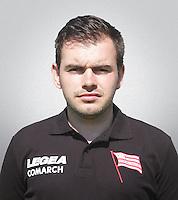 FOOTBALL POLISH EKSTRAKLASA SEASON 2014/2015<br /> Cracovia Krakow<br /> N/Z Dominik Korzuch fizjoterapeuta