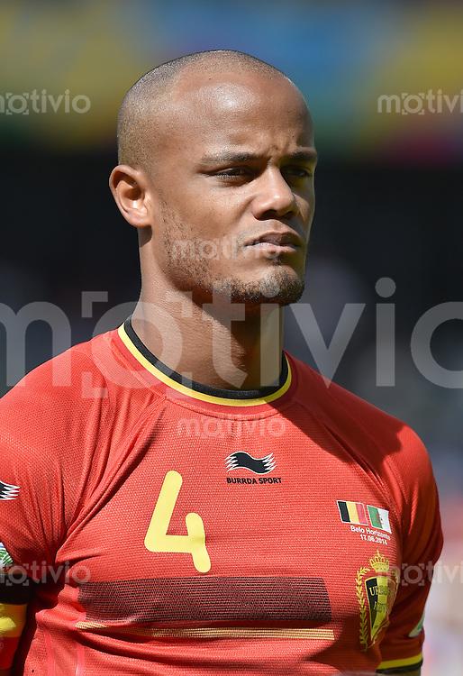 FUSSBALL WM 2014  VORRUNDE    Gruppe H     Belgien - Algerien                       17.06.2014 Vincent Kompany (Belgien)