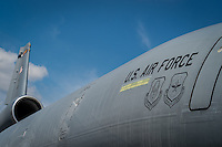 HOMESTEAD, FL - NOVEMBER 5, 2012: Close up of military cargo, during the Wings over Homestead, taken November 5 2012.