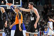 DESCRIZIONE : Eurolega Euroleague 2014/15 Gir.A Dinamo Banco di Sardegna Sassari - Real Madrid<br /> GIOCATORE : Rudy Fernandez Fernando Rocha<br /> CATEGORIA : Fair Play Proteste Arbitro Referee<br /> SQUADRA : Real Madrid<br /> EVENTO : Eurolega Euroleague 2014/2015<br /> GARA : Dinamo Banco di Sardegna Sassari - Real Madrid<br /> DATA : 12/12/2014<br /> SPORT : Pallacanestro <br /> AUTORE : Agenzia Ciamillo-Castoria / Luigi Canu<br /> Galleria : Eurolega Euroleague 2014/2015<br /> Fotonotizia : Eurolega Euroleague 2014/15 Gir.A Dinamo Banco di Sardegna Sassari - Real Madrid<br /> Predefinita :