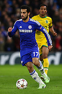 Mohamed Salah of Chelsea during the UEFA Champions League match at Stamford Bridge, London<br /> Picture by David Horn/Focus Images Ltd +44 7545 970036<br /> 10/12/2014