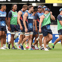 during the NSW Waratahs Cap Run at  Growthpoint Kings Park Durban , South Africa. March 9th 2017(Photo by Steve Haag)<br /> <br /> images for social media must have consent from Steve Haag