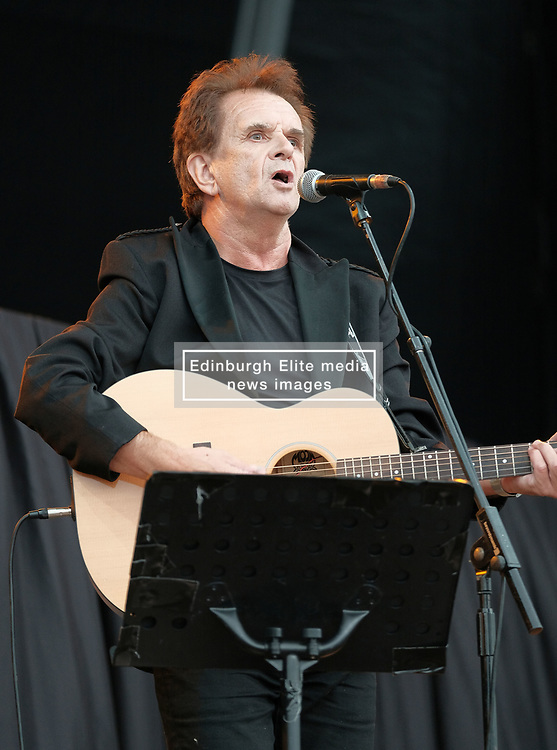 RUNRIG - THE LAST DANCE - FINAL FAREWELL CONCERT, Stirling, Saturday,18th August 2018<br /> <br /> Veteran Scottish rockers Runrig played their farewell concert tonight to mark their retirement after 45 years in the music business.<br /> <br /> The current line-up features Rory Macdonald (Bass), Calum Macdonald (Percussion), Iain Bayne (Drums), Malcolm Jones (Guitar), Brian Hurren (Keyboard) and Bruce Guthro (Lead Singer)<br /> <br /> They were supported by former member Donnie Munro and Julie Fowlis<br /> <br /> Pictured:  Donnie Munro<br /> <br /> <br /> (c) Alex Todd | Edinburgh Elite media