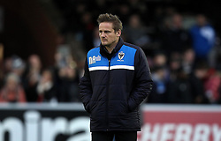 AFC Wimbledon Manager Neal Ardley - Mandatory byline: Robbie Stephenson/JMP - 07966 386802 - 26/12/2015 - FOOTBALL - Kingsmeadow Stadium - Wimbledon, England - AFC Wimbledon v Bristol Rovers - Sky Bet League Two