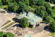 Nederland, Utrecht, Gemeente Utrecht, 26-06-2014; Fort Vechten, onderdeel Nieuwe Hollandse Waterlinie. Wordt verbouwd tot Waterliniemuseum.<br /> aerial photo (additional fee required);<br /> copyright foto/photo Siebe Swart.