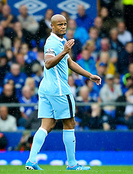 Manchester City captain, Vincent Company  - Mandatory byline: Matt McNulty/JMP - 07966386802 - 23/08/2015 - FOOTBALL - Goodison Park -Everton,England - Everton v Manchester City - Barclays Premier League