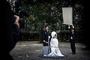 Tokyo, March 2010 - Wedding at Meiji Jingu shrine.