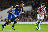 Sergio Aguero of Argentina during the International Friendly match at the Boleyn Ground, London<br /> Picture by David Horn/Focus Images Ltd +44 7545 970036<br /> 12/11/2014