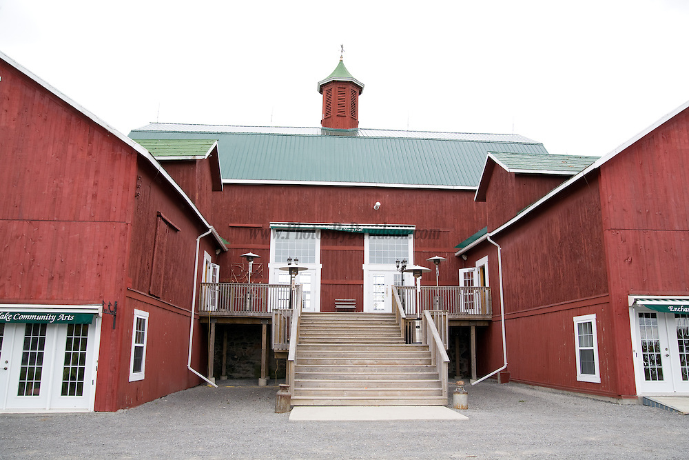 The Red Barn in Prince Edward County is famous for country style weddings.