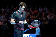 Andy Murray during the Andy Murray Live event at SSE Hydro, Glasgow, Scotland on 7 November 2017. Photo by Craig Doyle.