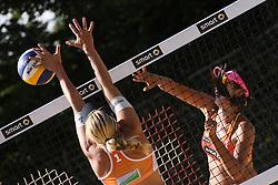10-06-2016 DUI: Smart Major Beach Volleyball World Tour, Hamburg<br /> Fang Wang #1<br /> <br /> ***NETHERLANDS ONLY***