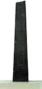 Black siltstone obelisks of Nectanebo IIFound in Cairo but originally from Hermopolis (modern Al-Ashmunayn), Middle Egypt. 30th Dynasty, around 350 BC. Obelisks were solar symbols placed in temples. Many are massive, such as 'Cleopatra's Needles' now in London and New York, but smaller examples such as these may have been placed at the entrance to a ramp into part of a temple. The inscriptions records the dedication to the Egyptian god Thoth, 'Lord of Hermopolis', one of Thoth's major cult centres. Most of the extant remains of the site date to the Graeco-Roman period, but a British Museum expedition (1980-90) found many remains of older temples.