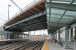 Construction Progress Photography of the Railroad Station at Fairfield Metro Center. 30th Site Visit of once per month periodic photography coverage of the entire project. Primary Contractor: The Middlesex Corporation, Littleton, MA. Owner: Connecticut Department of Transportation. Serving Metro-North Commuter Railroad.
