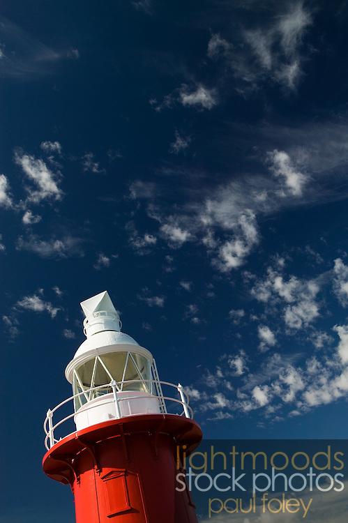 North Mole Lighthouse (1903), Fremantle, Western Australia.