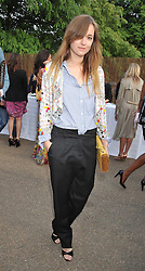 SYLVIA ROITFELD at the annual Serpentine Gallery Summer Party sponsored by Canvas TV  the new global arts TV network, held at the Serpentine Gallery, Kensington Gardens, London on 9th July 2009.