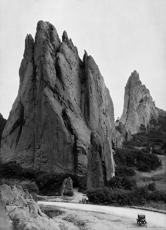 Garden of the Gods, Colorado Springs, Colorado, USA, 1926