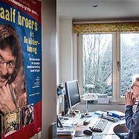 Nederland, Gronsveld, 10 maart 2016.<br /> Kinderboekenschrijver Jacques Vriens<br /> Foto: Jean-Pierre Jans