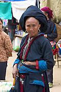 Sinho Market. White Hmong women.