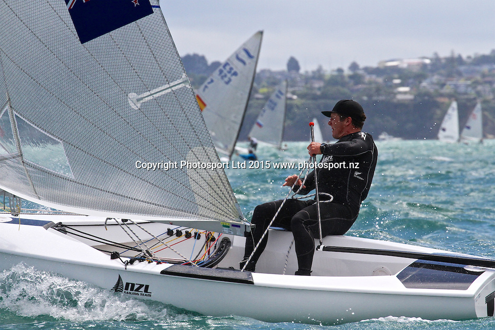 Andrew Murdoch (NZL) Race 9  Finn Gold Cup Takapuna