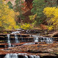 Archangel Falls<br /> Zion National Park, Utah, USA