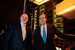 UNITED KINGDOM LONDON 14JUN07 - Joe Perella and Peter Weinberg (R) of Perella Weinberg Parners pose for portraits at the Four Seasons Hotel in Mayfair, central London. Perella Weinberg Partners is an independent, privately-owned financial services firm that provides corporate advisory and asset management services to clients around the world. ..jre/Photo by Jiri Rezac..© Jiri Rezac 2007..Contact: +44 (0) 7050 110 417.Mobile:  +44 (0) 7801 337 683.Office:  +44 (0) 20 8968 9635..Email:   jiri@jirirezac.com.Web:    www.jirirezac.com..© All images Jiri Rezac 2007 - All rights reserved.