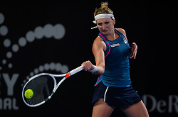 January 7, 2019 - Sidney, AUSTRALIA - Timea Bacsinszky of Switzerland in action during the first round at the 2019 Sydney International WTA Premier tennis tournament (Credit Image: © AFP7 via ZUMA Wire)