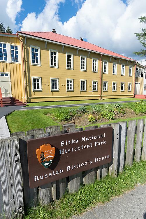 Russian Bishop's House, Sitka National Historic Park, Alaska.