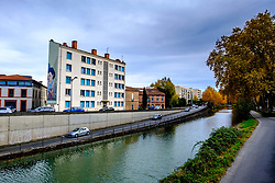 The Canal du Midi as it passes through Toulouse, France<br /> <br /> (c) Andrew Wilson | Edinburgh Elite media
