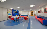 DC Interior design image of Childrens Oncology Clinic at Georgetown University Hospital in Washington DC by Jeffrey Sauers of Commercial Photographics, Architectural Photo Artistry in Washington DC, Virginia to Florida and PA to New England